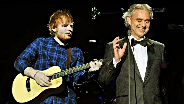 Ed Sheeran Andrea Bocelli Perfect Symphony Lyrics Wth Translation